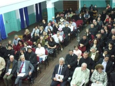 """Seminarul Sfântul Gheorghe Roman prezentare """"Autocefalie şi Patriarhie"""" autor prof. dr. Tudor Ghideanu"""