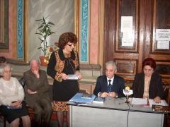 """Biblioteca G.R.Melidon lansare """"Zboruri intrerupte"""" 21 noiembrie 2008"""