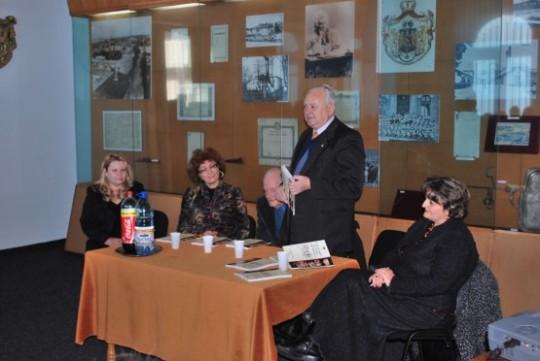 lansare carte Muzeul de Istorie Roman